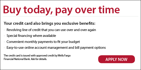 Wells Fargo Financing Link